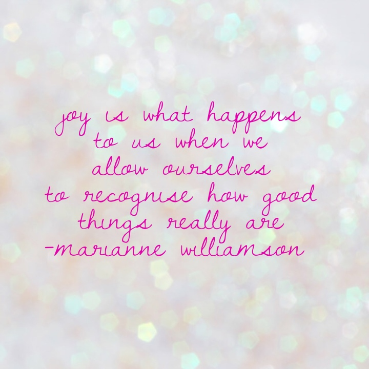 joy marianne williamson