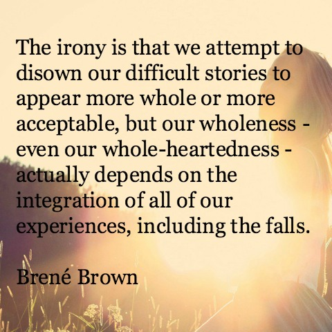 Brené Brown on owning our story