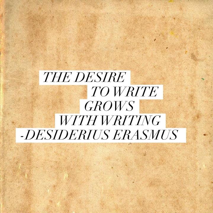 desire to write
