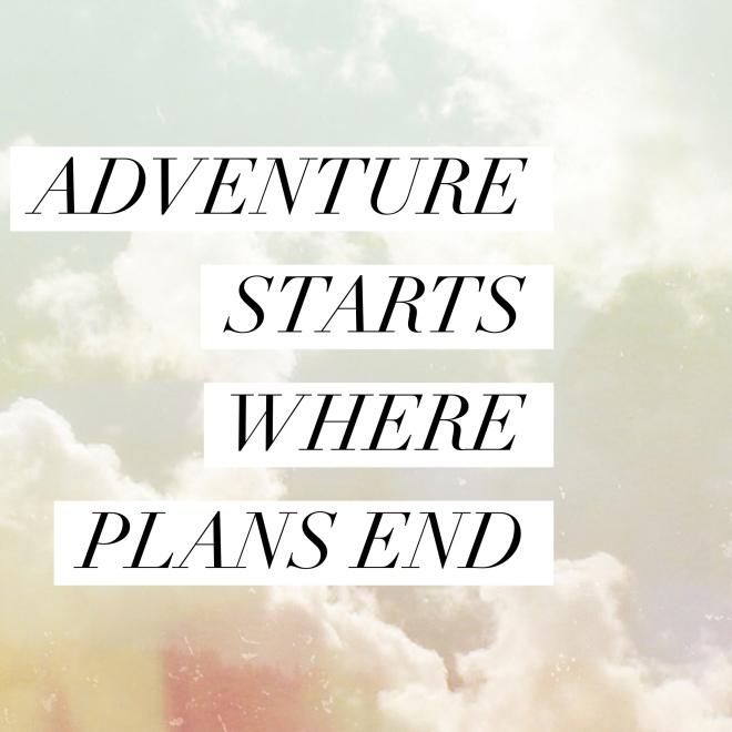 adventure vs plans