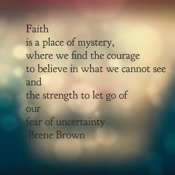 faith brene brown